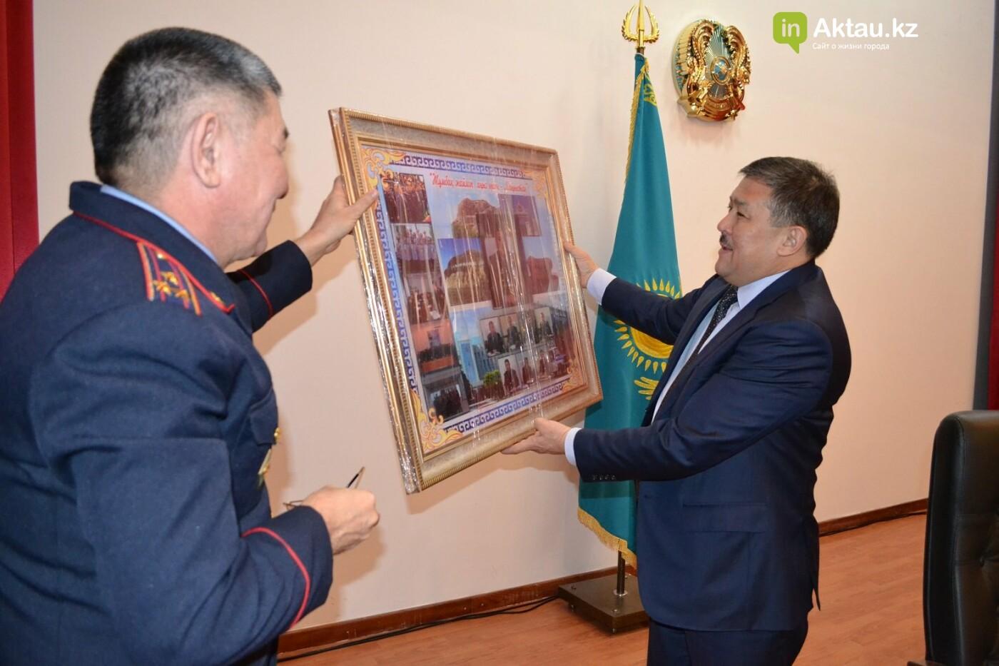 В ДВД Мангистауской области попрощались с Кайратом Дальбековым, фото-1