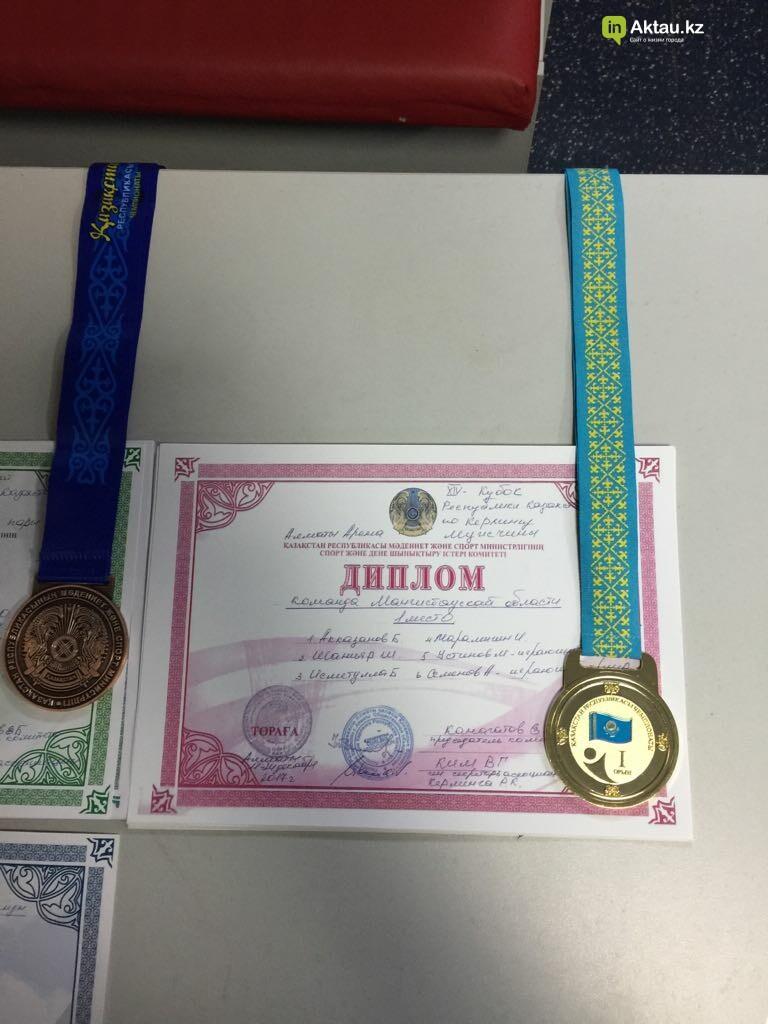 Керленгисты из Актау завоевали серебро на республиканской спартакиаде , фото-1
