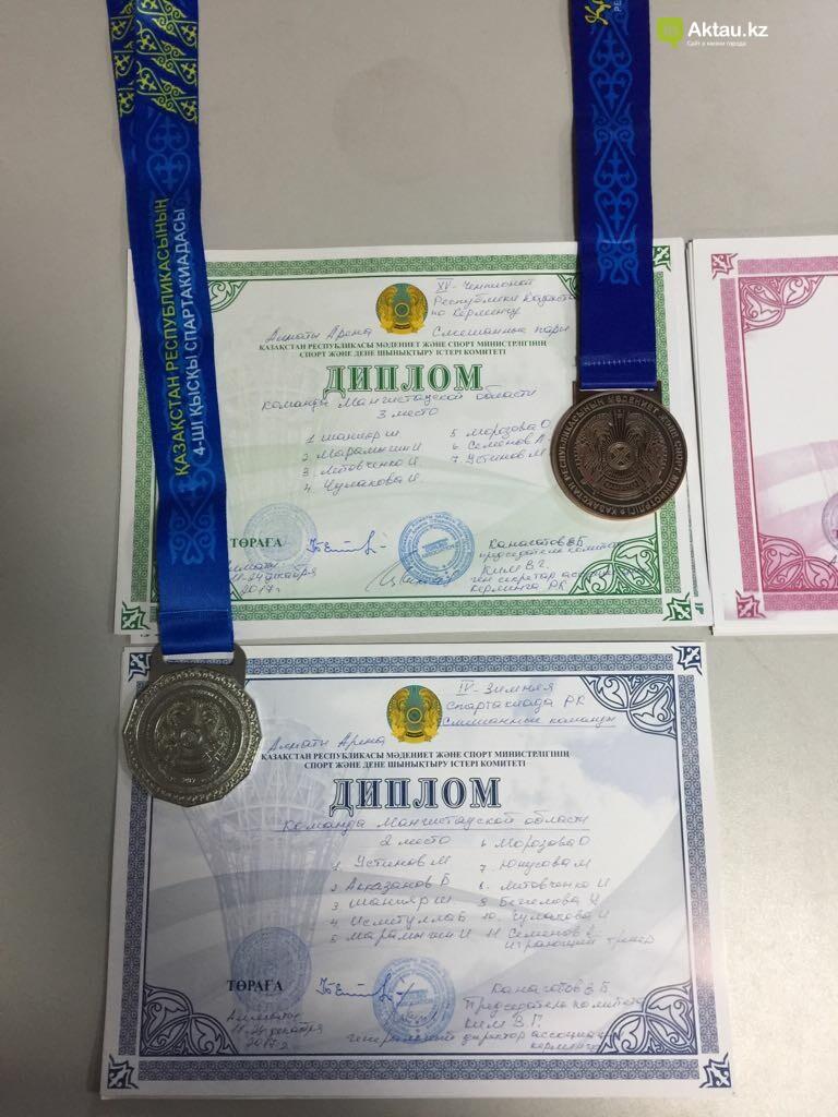 Керленгисты из Актау завоевали серебро на республиканской спартакиаде , фото-3