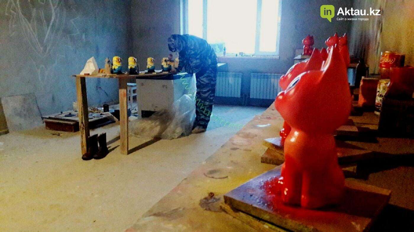 Сельчанин из Курыка открыл цех по изготовлению гипсовых копилок, фото-1
