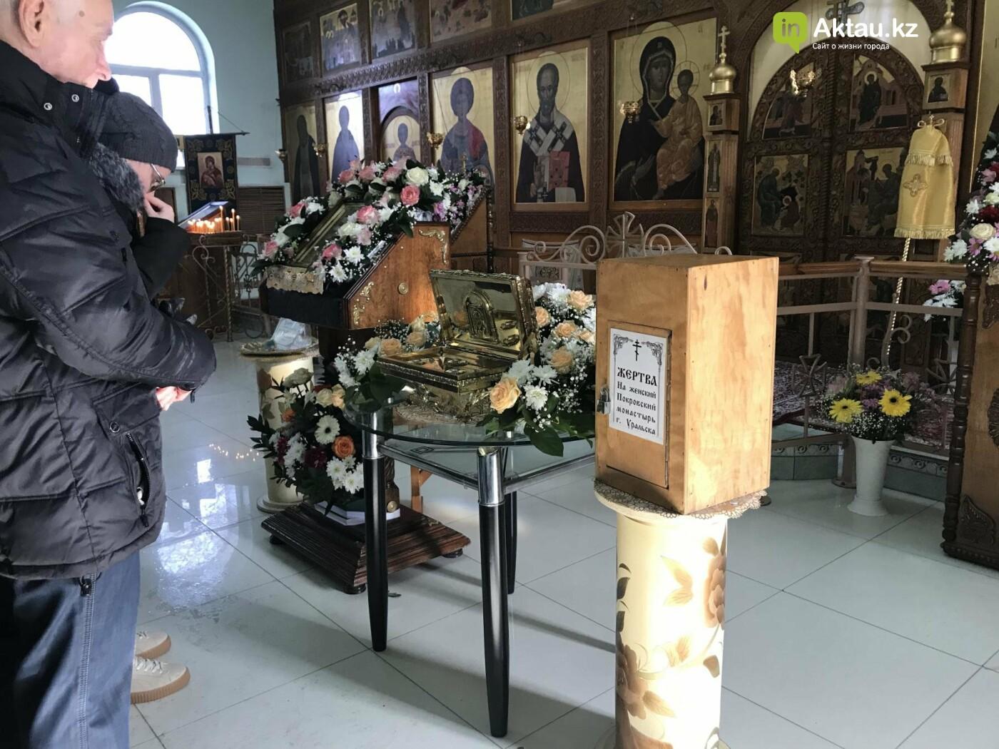 Актаусцы приложились к мощам Блаженной Матроны Московской, фото-3