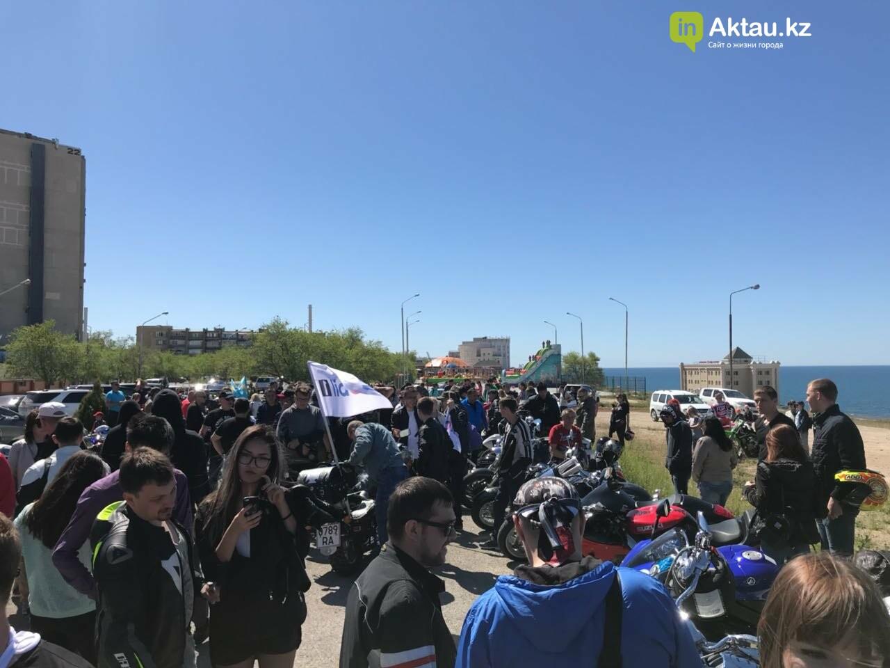 Байкеры открыли мотосезон в Актау (ФОТО), фото-3