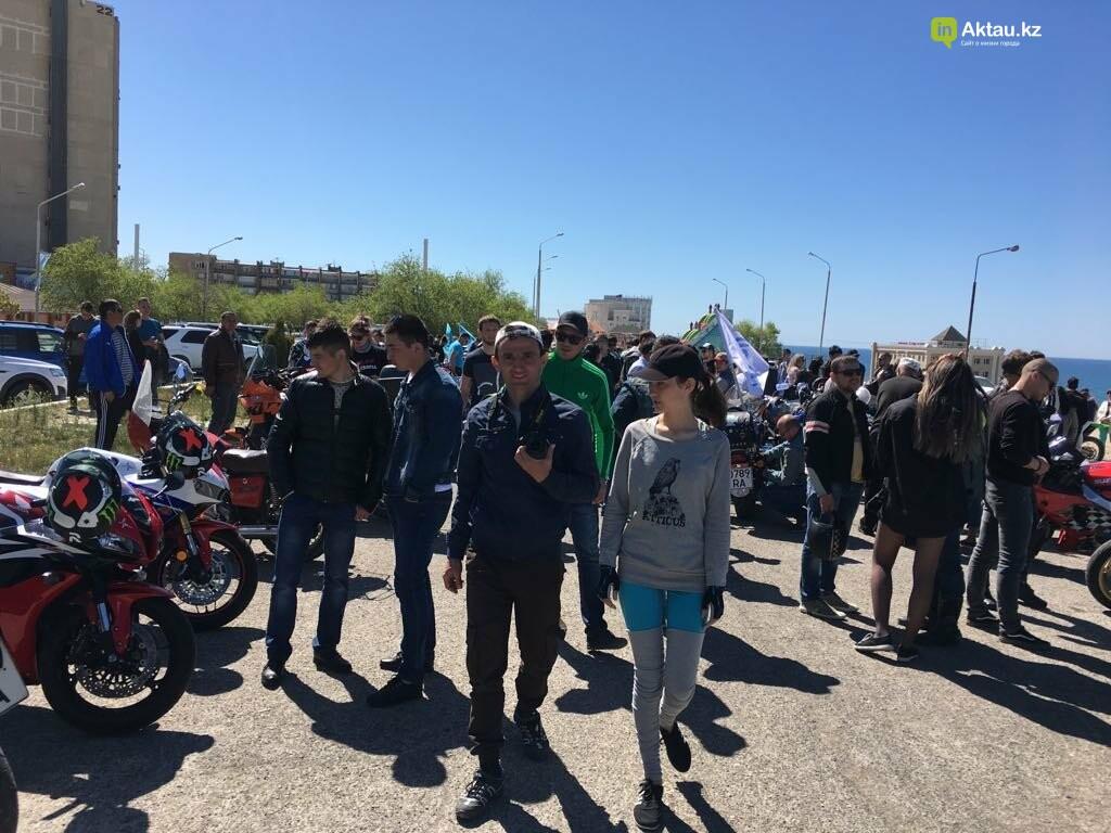 Байкеры открыли мотосезон в Актау (ФОТО), фото-4