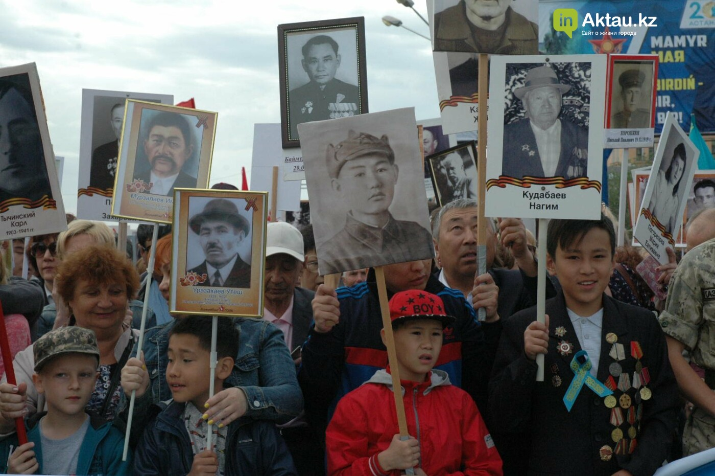 Как праздновали День Победы в Актау (ВИДЕО), фото-45