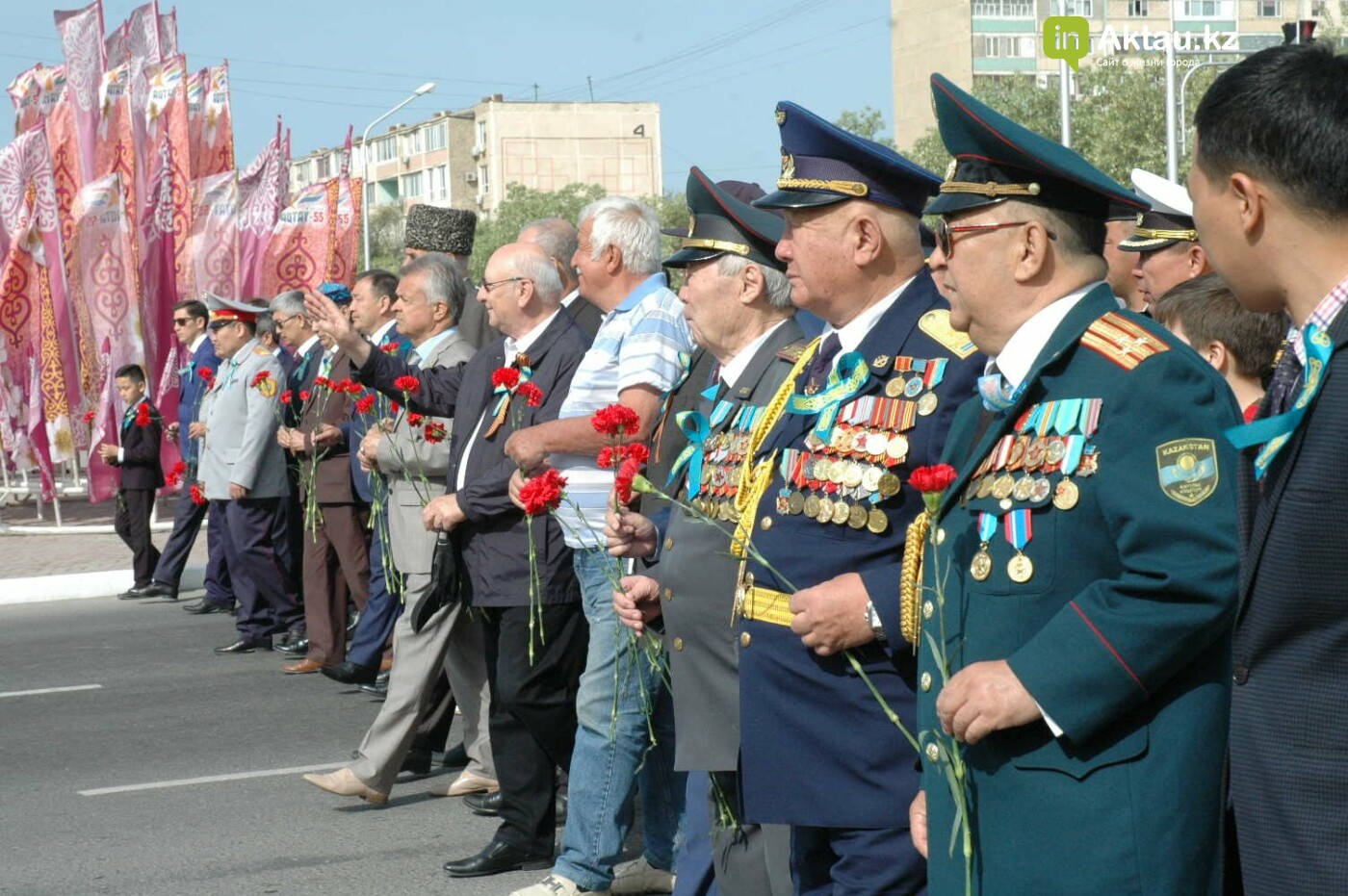 Как праздновали День Победы в Актау (ВИДЕО), фото-54