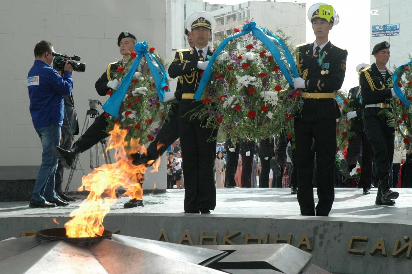 Как праздновали День Победы в Актау (ВИДЕО), фото-57