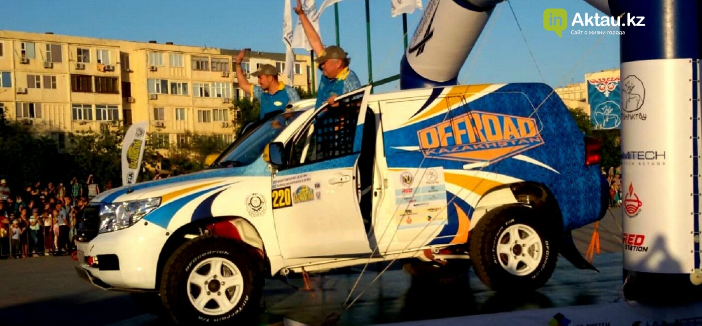 Пятый этап Кубка мира по ралли-рейдам стартовал в Актау, фото-1