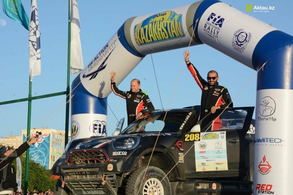 Пятый этап Кубка мира по ралли-рейдам стартовал в Актау, фото-3