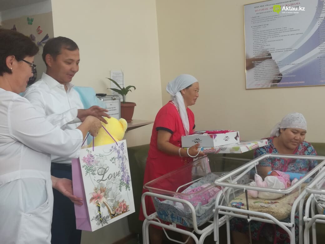 Два Нурсултана родились в Актау в день рождения президента, фото-1