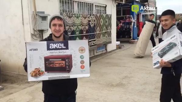 Бизнесмен из Актау помог многодетной матери (ВИДЕО), фото-3