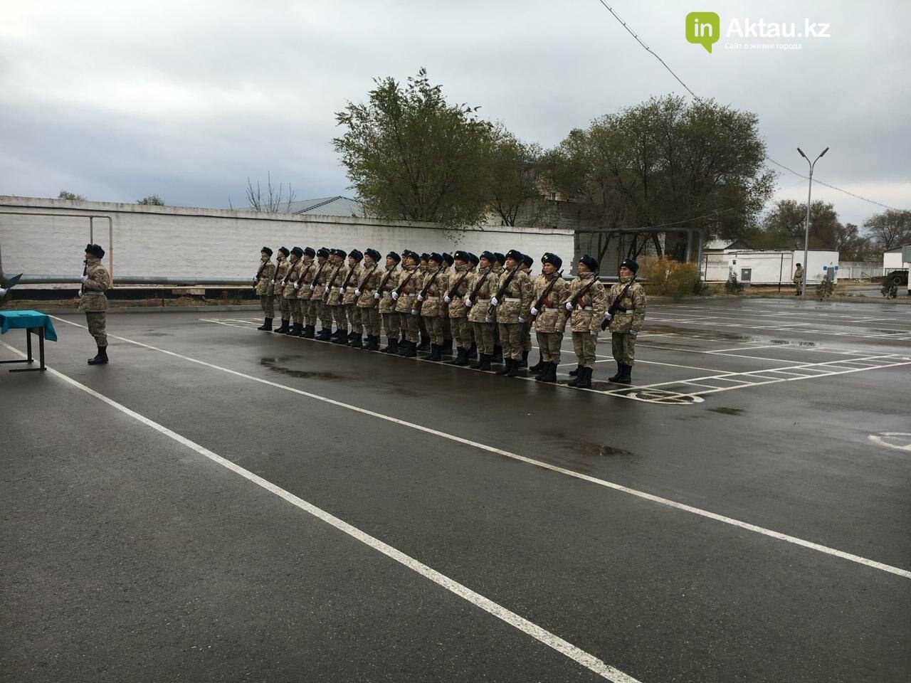 Более 80 солдат-срочников приняли присягу в Мангистау, фото-6