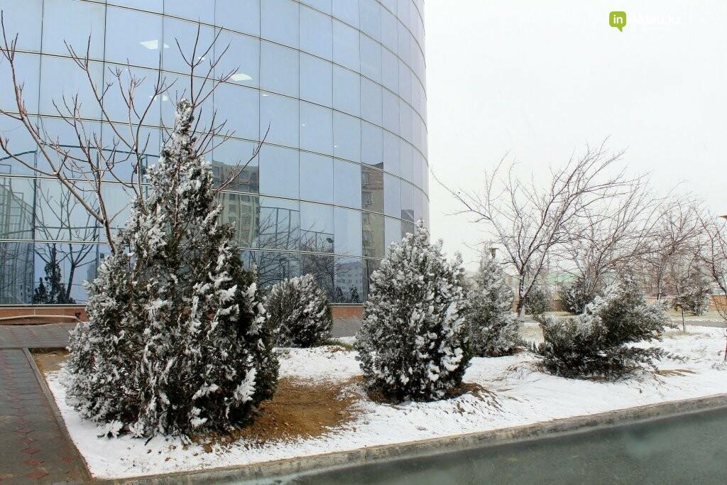 Первый снег в Актау в новом году (ФОТОПОСТ), фото-2