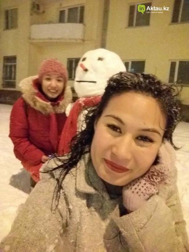 Снеговики и снежные бабы: как актаусцы развлекались 1 января (ФОТО), фото-14