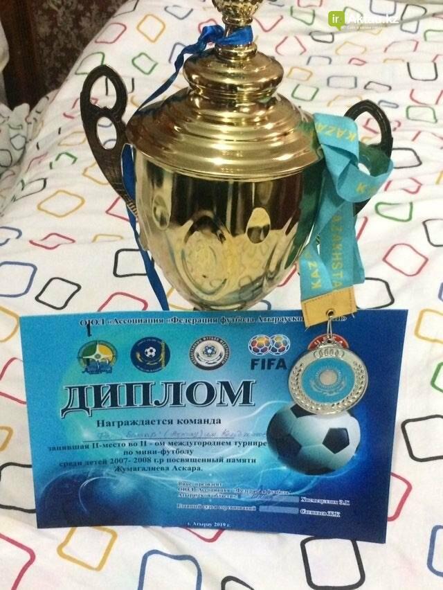 Юные футболисты из Актау завоевали призовое место на республиканском турнире, фото-1