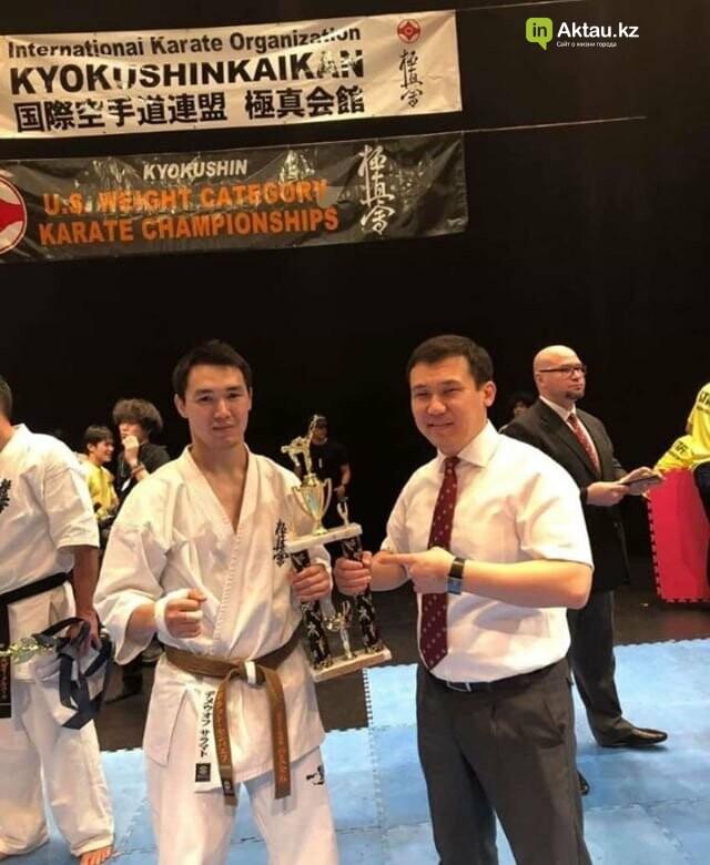 Спортсмен из Актау стал призером чемпионата Америки по киокушинкай кан каратэ, фото-2
