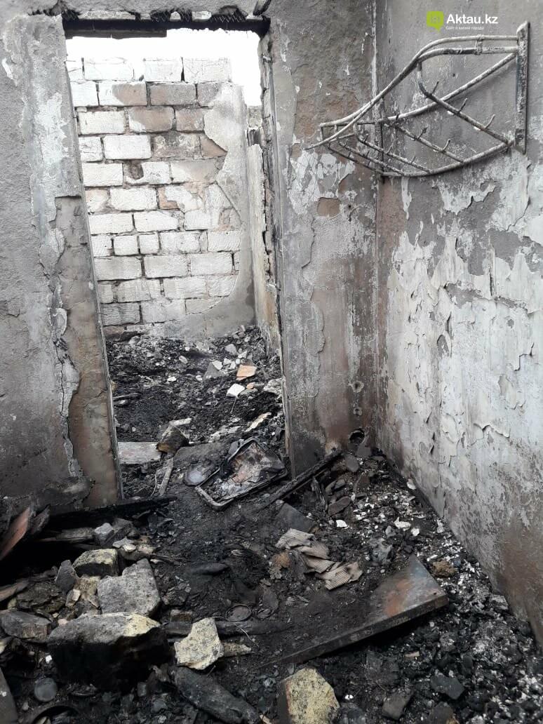 Семье погорельцев в Мангистау требуется помощь, фото-2