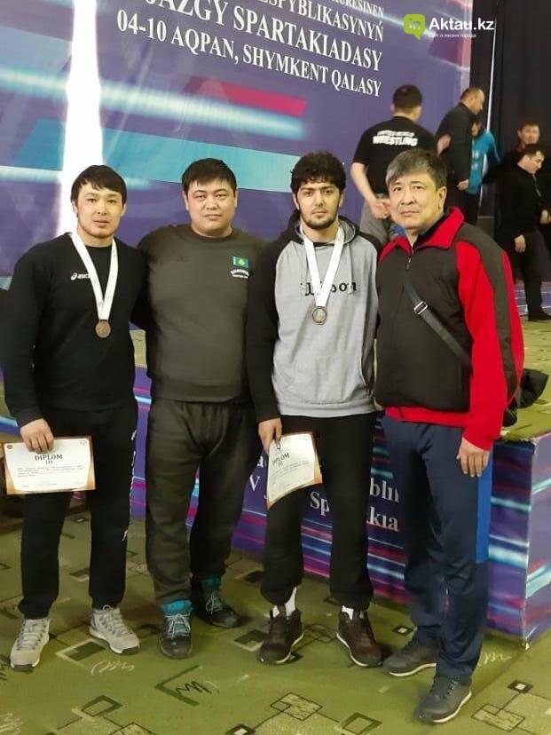 Три вольника из Мангистау стали призерами спартакиады в Шымкенте, фото-1