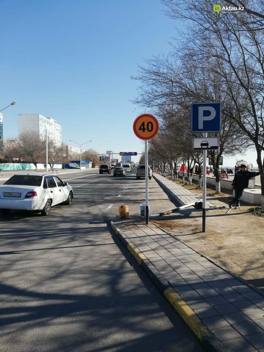 Дополнительные дорожные знаки установили в Актау, фото-4