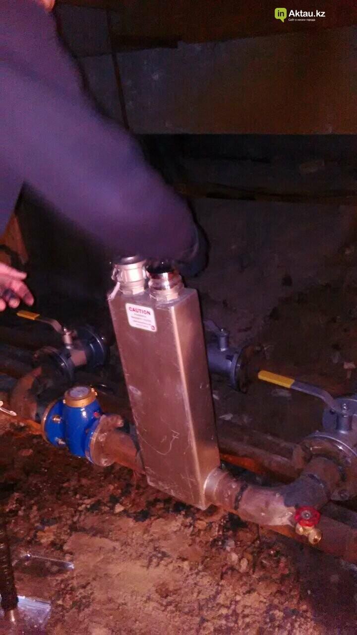Новейшие технологии: в жилом доме Актау установили магнитный очиститель воды, фото-5