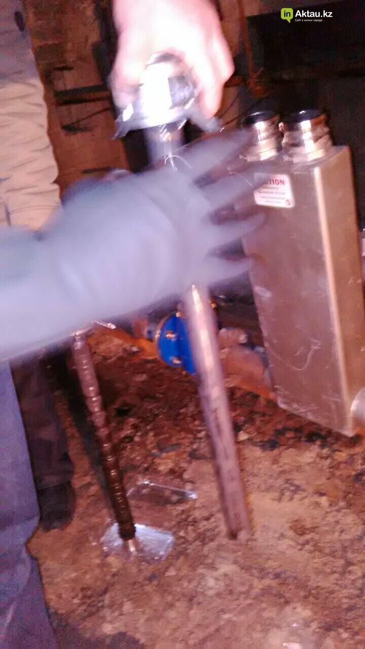 Новейшие технологии: в жилом доме Актау установили магнитный очиститель воды, фото-4