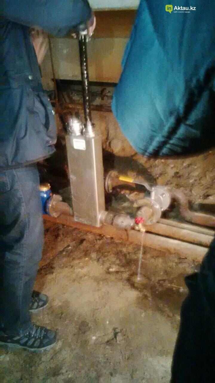 Новейшие технологии: в жилом доме Актау установили магнитный очиститель воды, фото-1