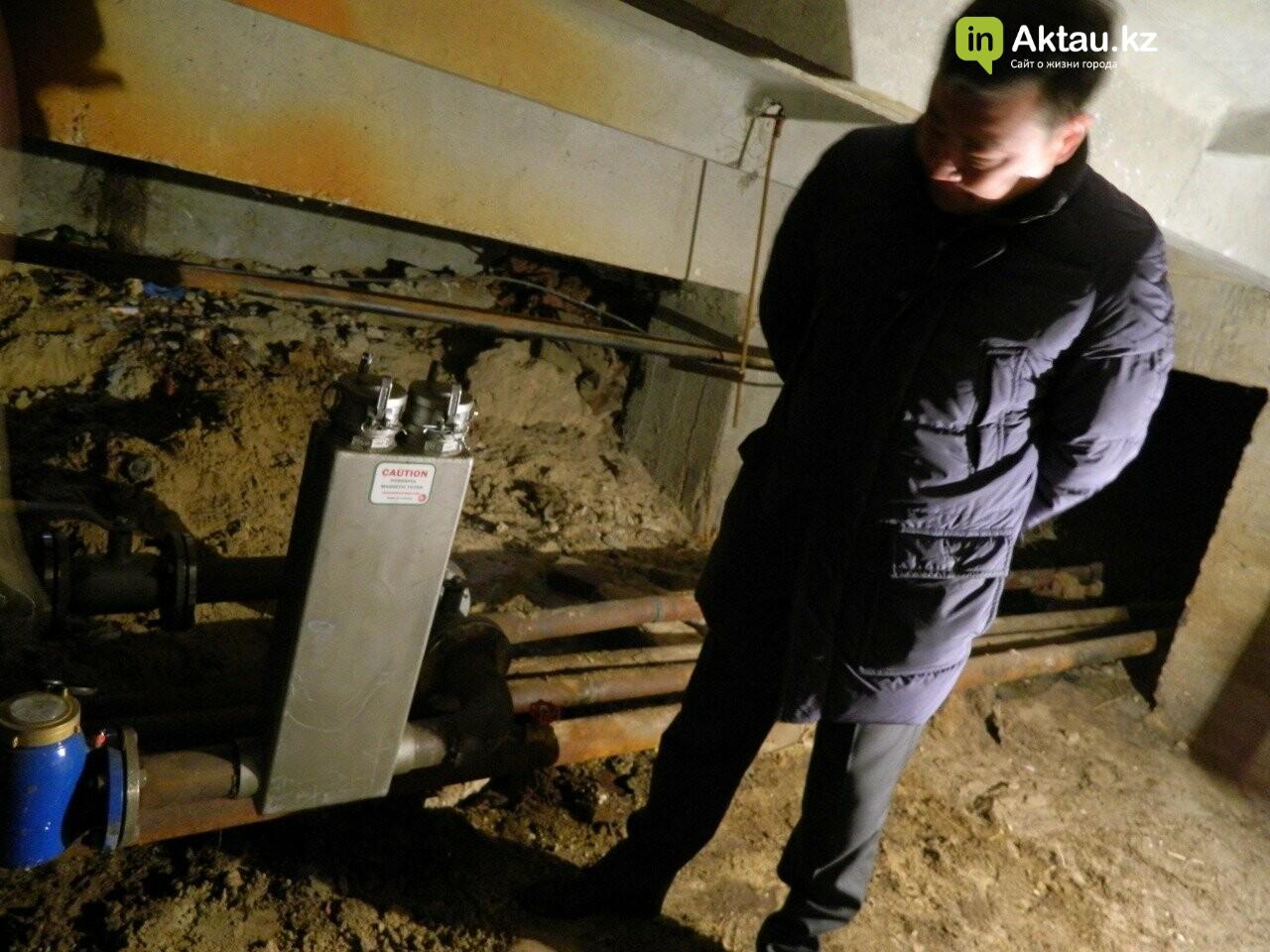 Новейшие технологии: в жилом доме Актау установили магнитный очиститель воды, фото-6