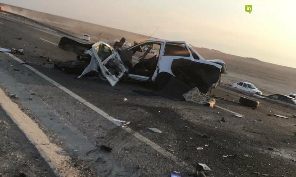Есть погибшие: страшное ДТП произошло на трассе Шетпе-Жетыбай (ВИДЕО), фото-1