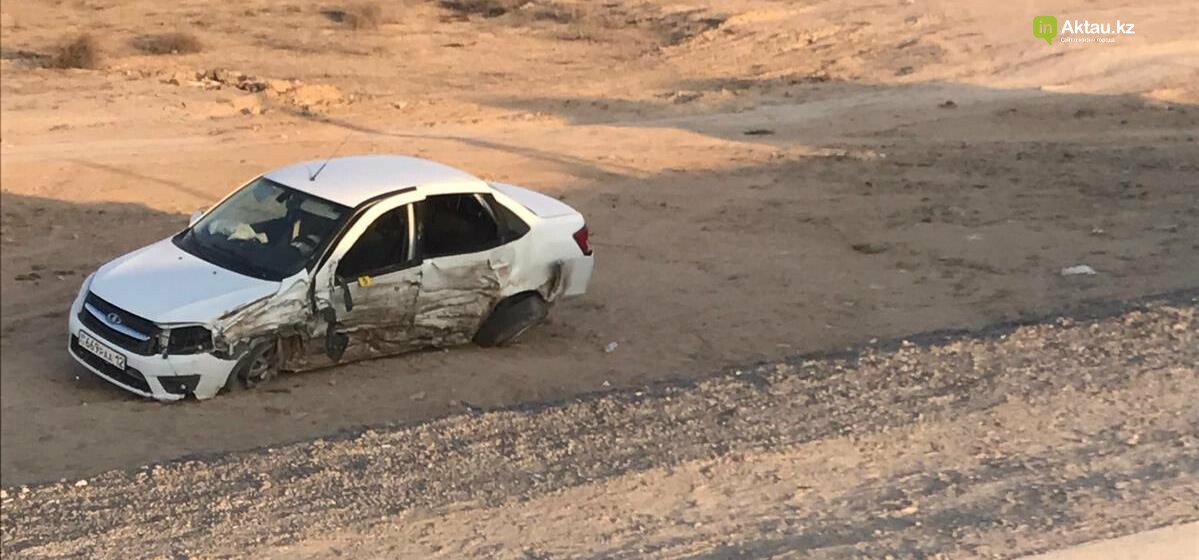 Есть погибшие: страшное ДТП произошло на трассе Шетпе-Жетыбай (ВИДЕО), фото-3