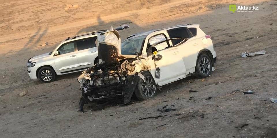 Есть погибшие: страшное ДТП произошло на трассе Шетпе-Жетыбай (ВИДЕО), фото-2