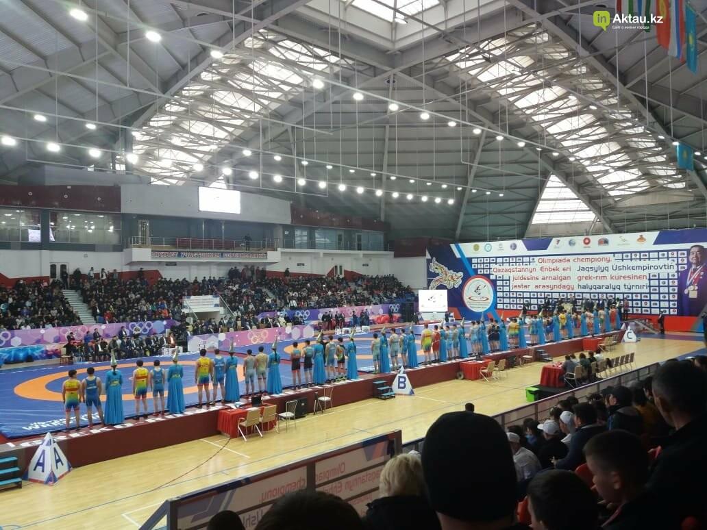 Борец из Актау стал призером международного турнира , фото-1