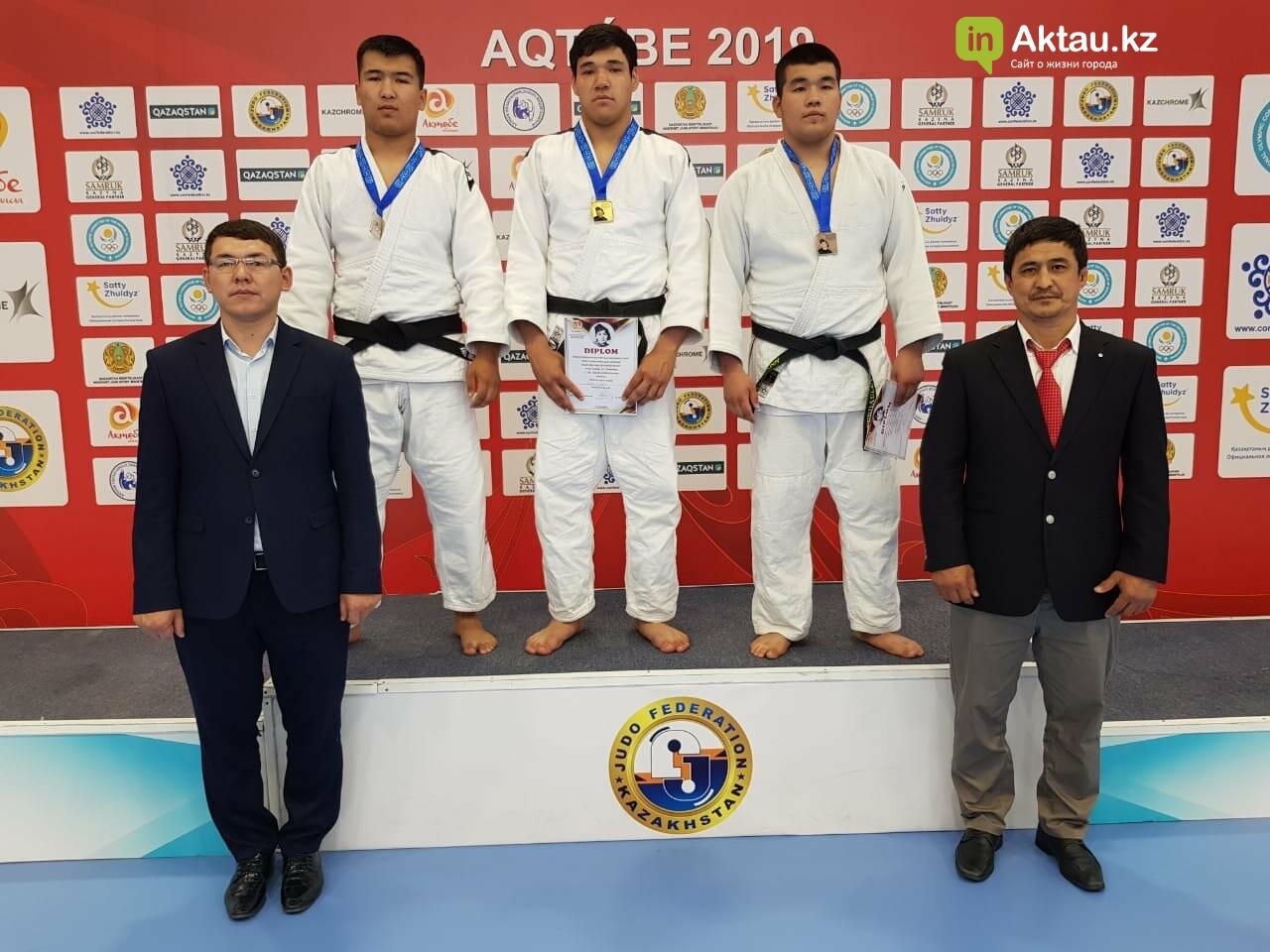 Четыре медали завоевали дзюдоисты из Мангистау на международном турнире, фото-3