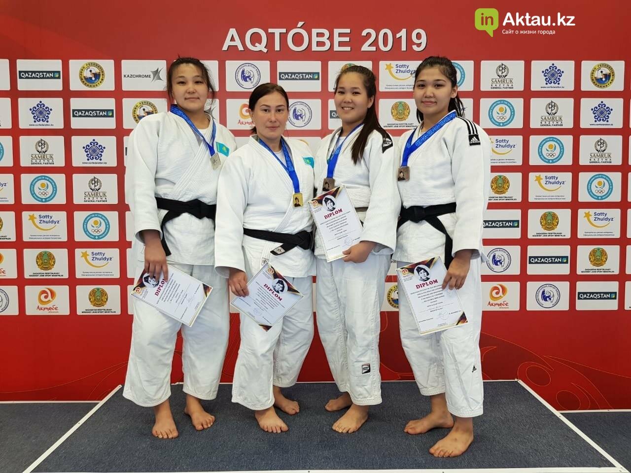 Четыре медали завоевали дзюдоисты из Мангистау на международном турнире, фото-1