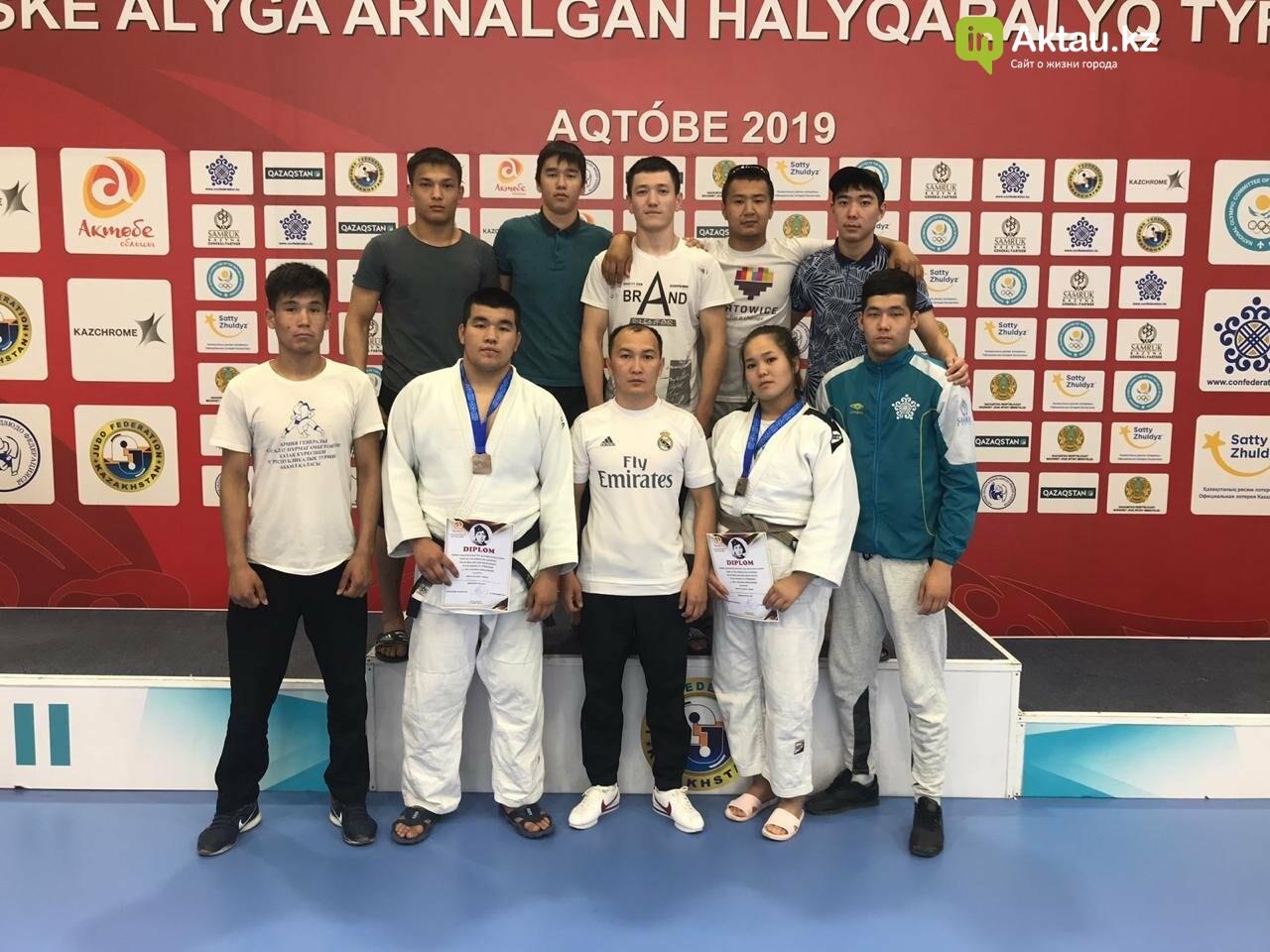 Четыре медали завоевали дзюдоисты из Мангистау на международном турнире, фото-2