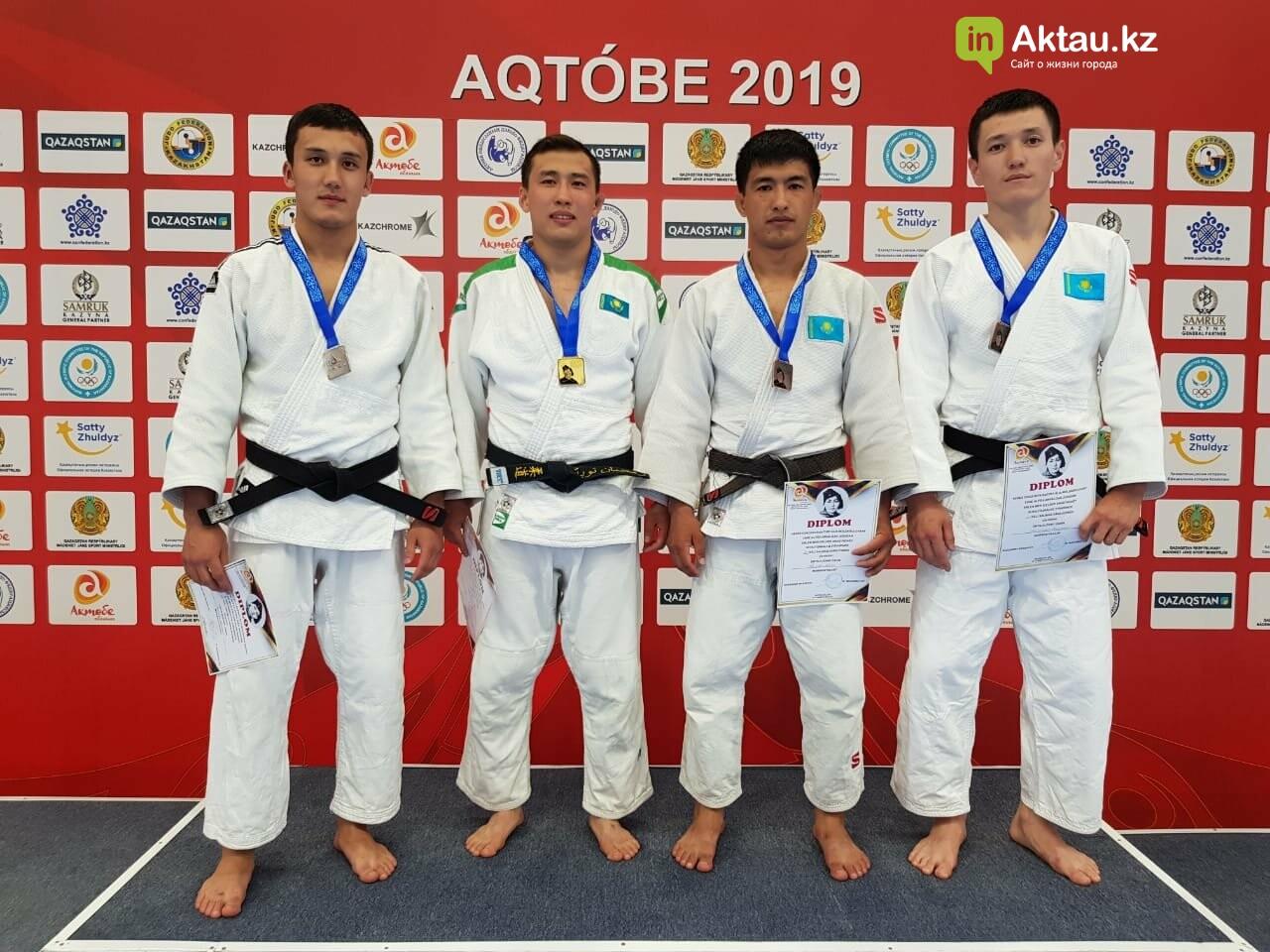 Четыре медали завоевали дзюдоисты из Мангистау на международном турнире, фото-5