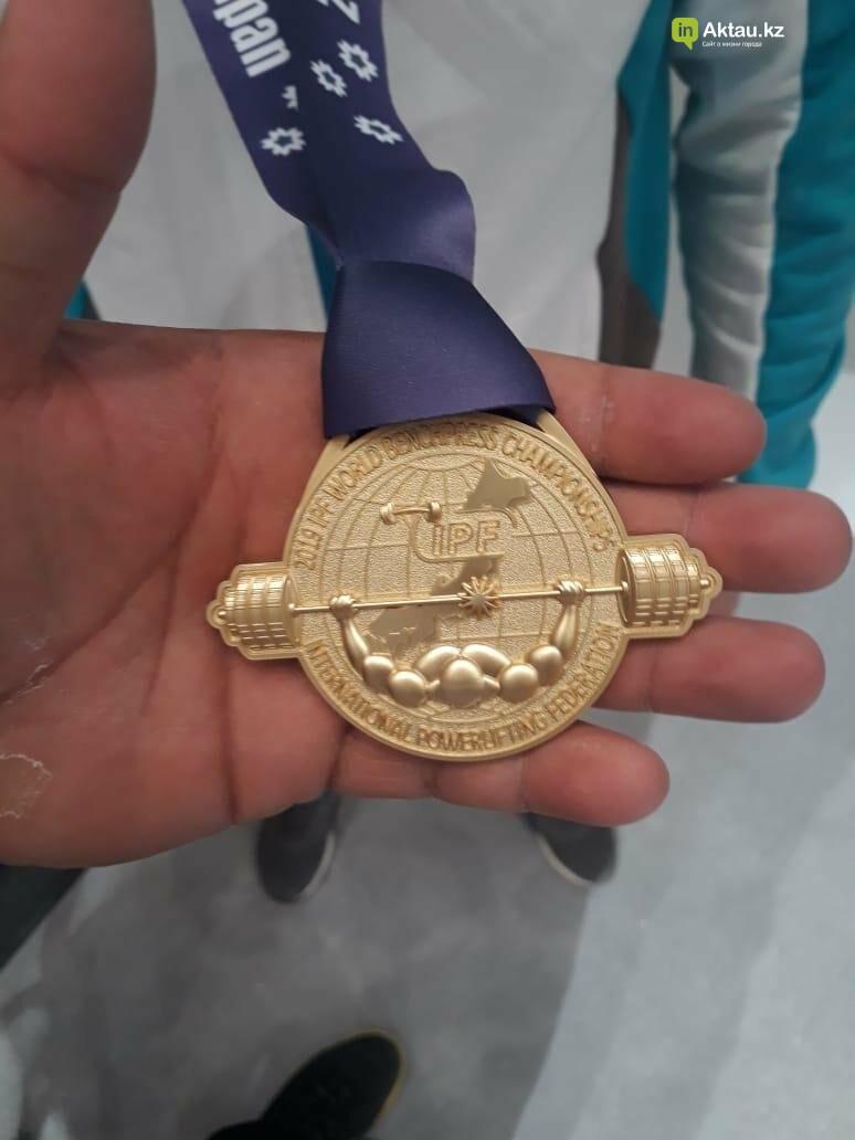 Три медали привезли мангистауские пауэрлифтеры из Токио, фото-3