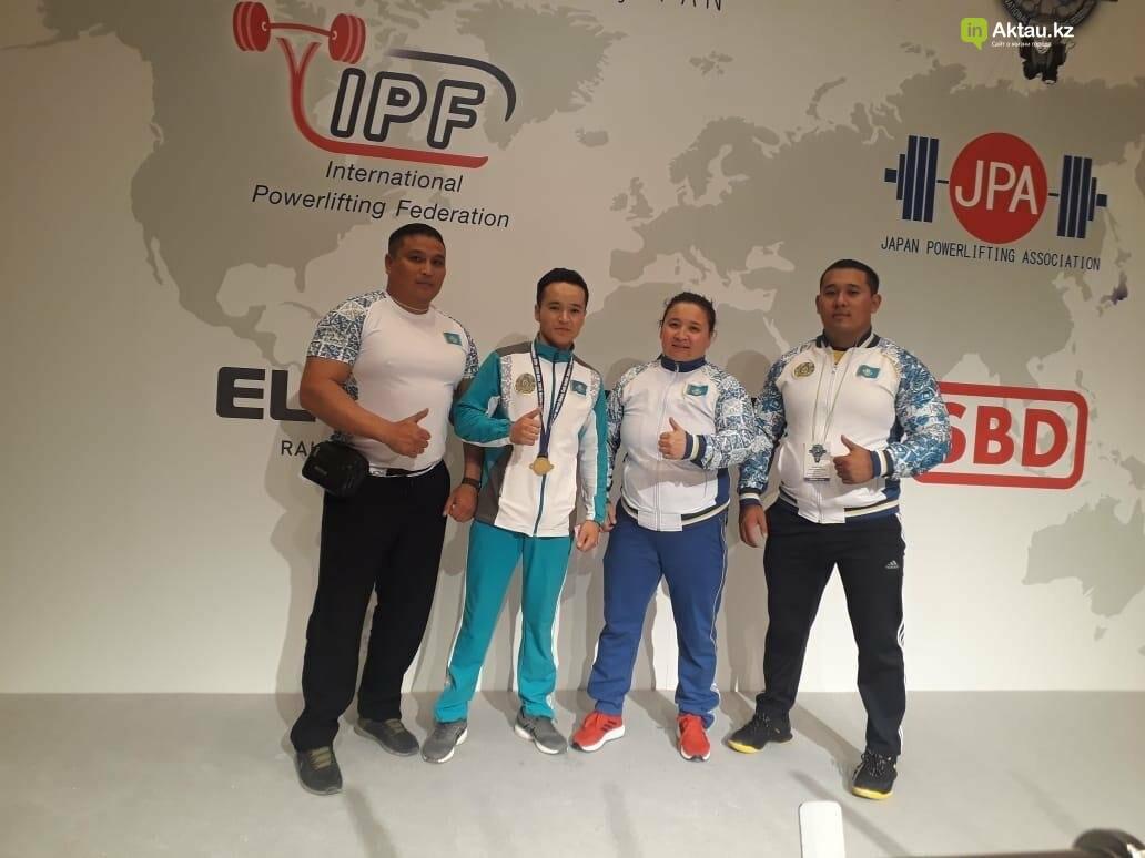 Три медали привезли мангистауские пауэрлифтеры из Токио, фото-2