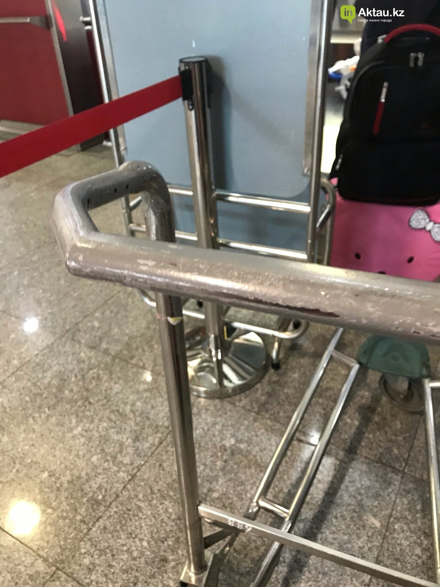Жительница Актау раскритиковала состояние аэропорта (ФОТО), фото-1