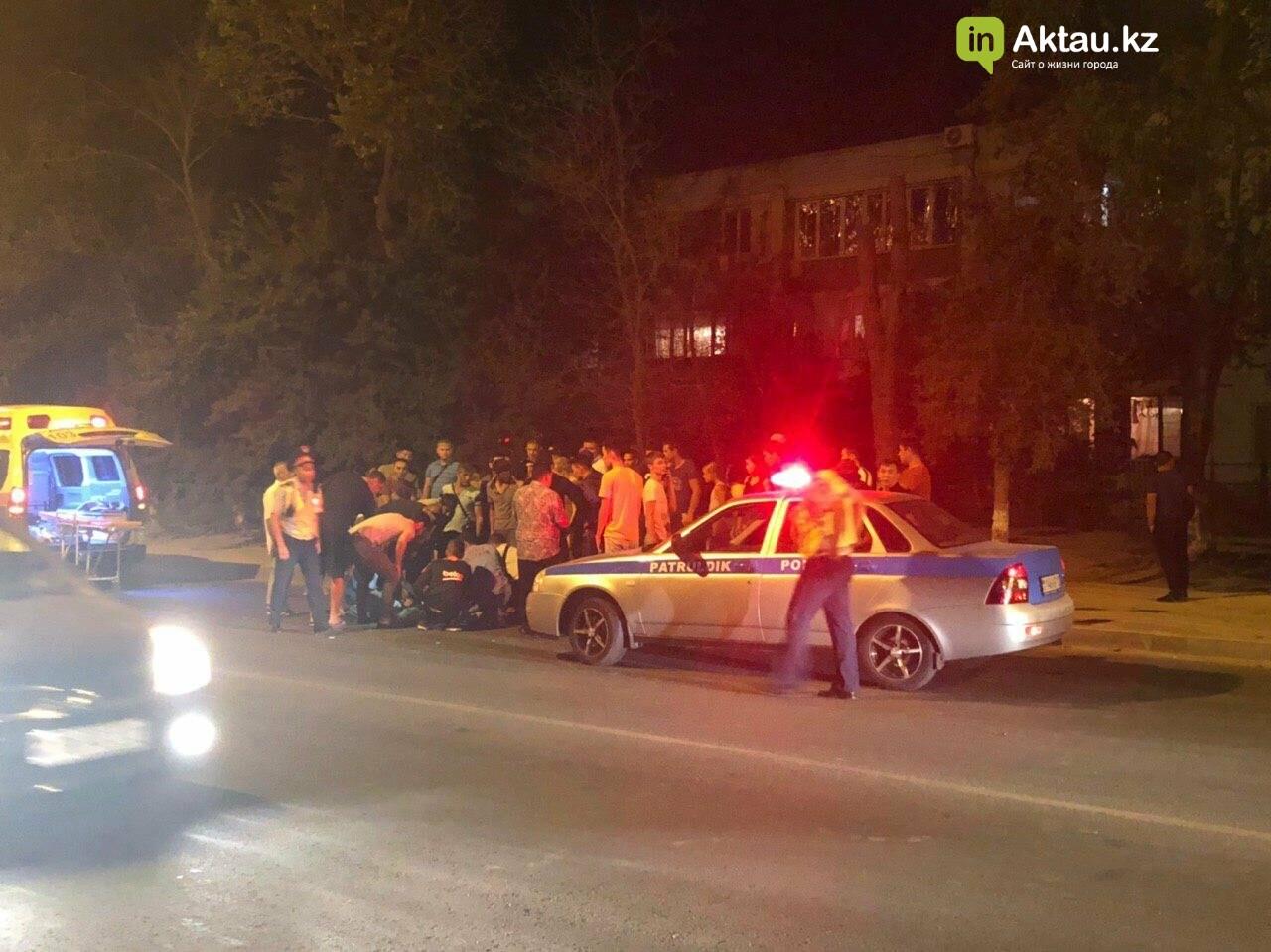 Мотоциклист пострадал в аварии в Актау (ВИДЕО), фото-4