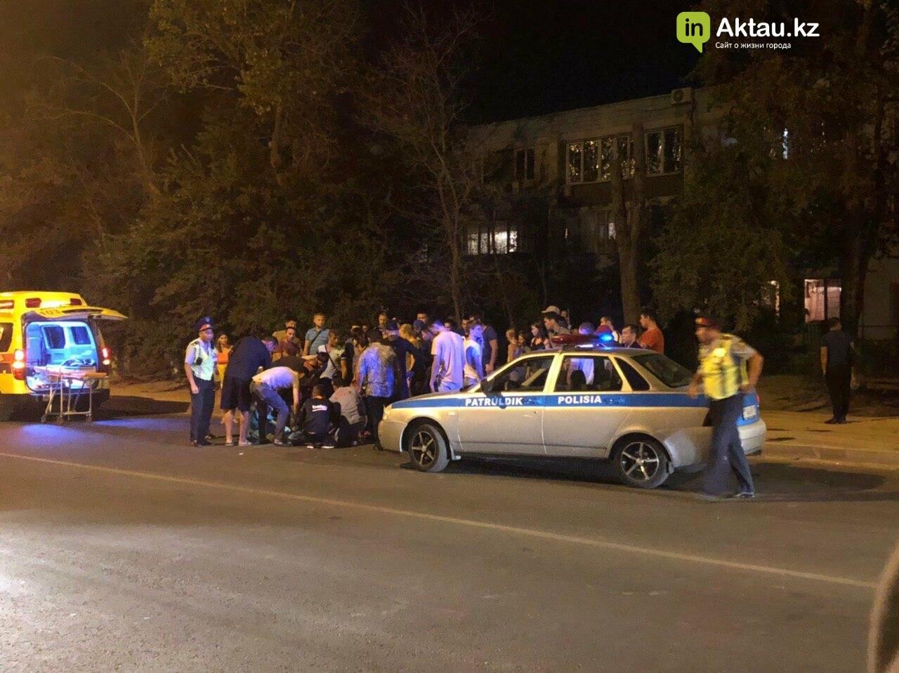 Мотоциклист пострадал в аварии в Актау (ВИДЕО), фото-3