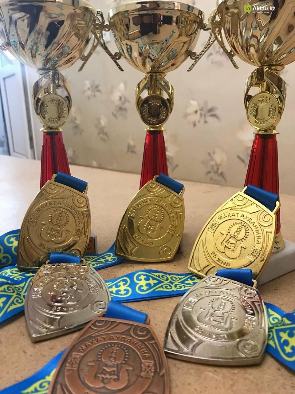 Золотые медали завоевали мангистауские штангисты в Атырауской области, фото-1