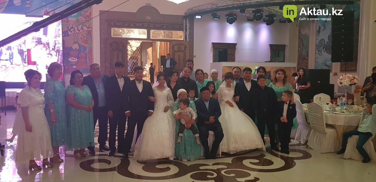 Дабл той: в Жанаозене женились две пары близнецов, фото-5
