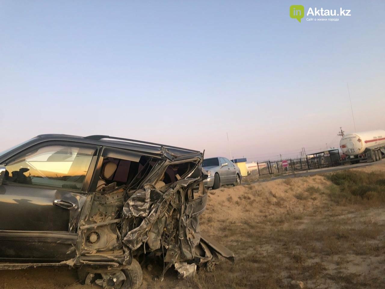 Три автомобиля столкнулись в Жанаозене, фото-1