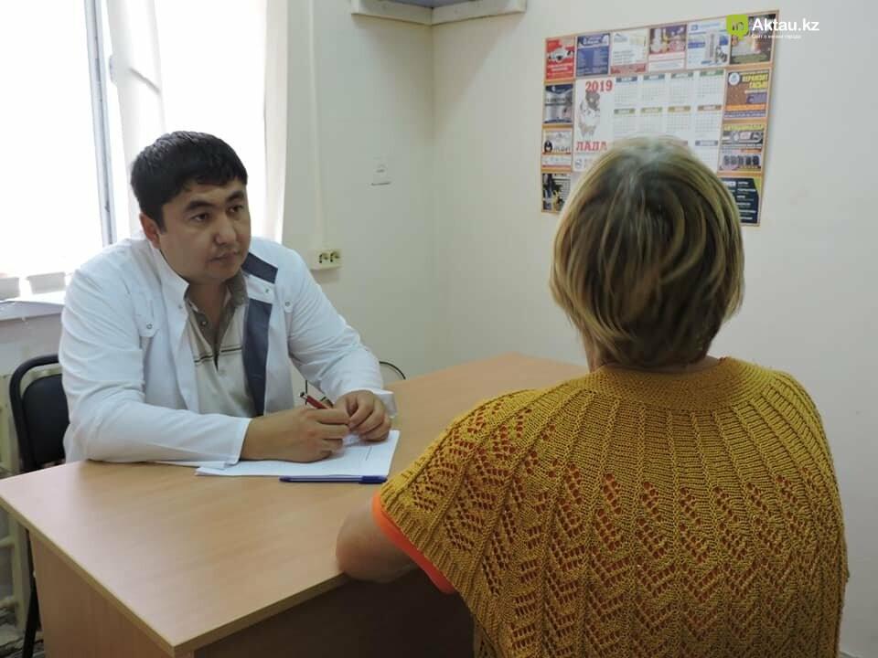 Врачи выявили у 20 мангистаусцев патологии во время бесплатного обследования на онкологию, фото-2