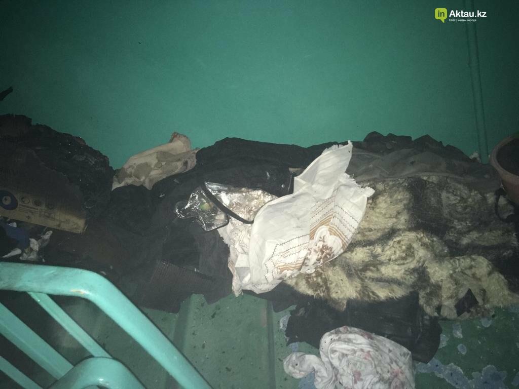 В Актау запах дыма встревожил жильцов пятиэтажки, фото-2