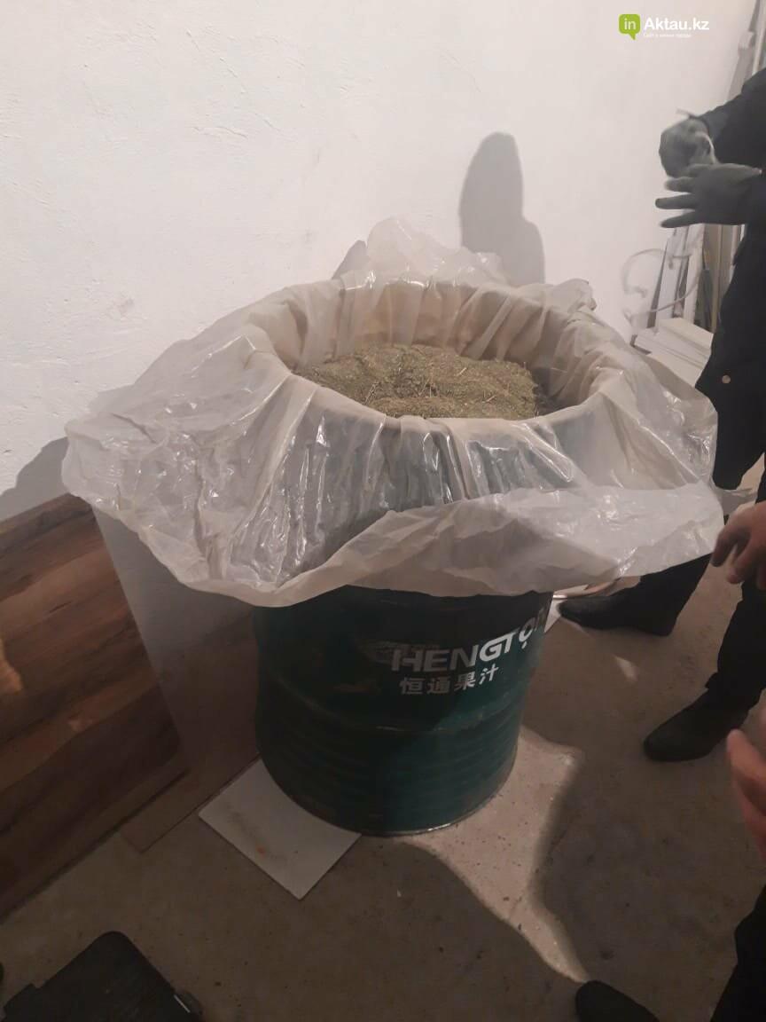 Наркотики нашли на производственной базе в Актау, фото-1