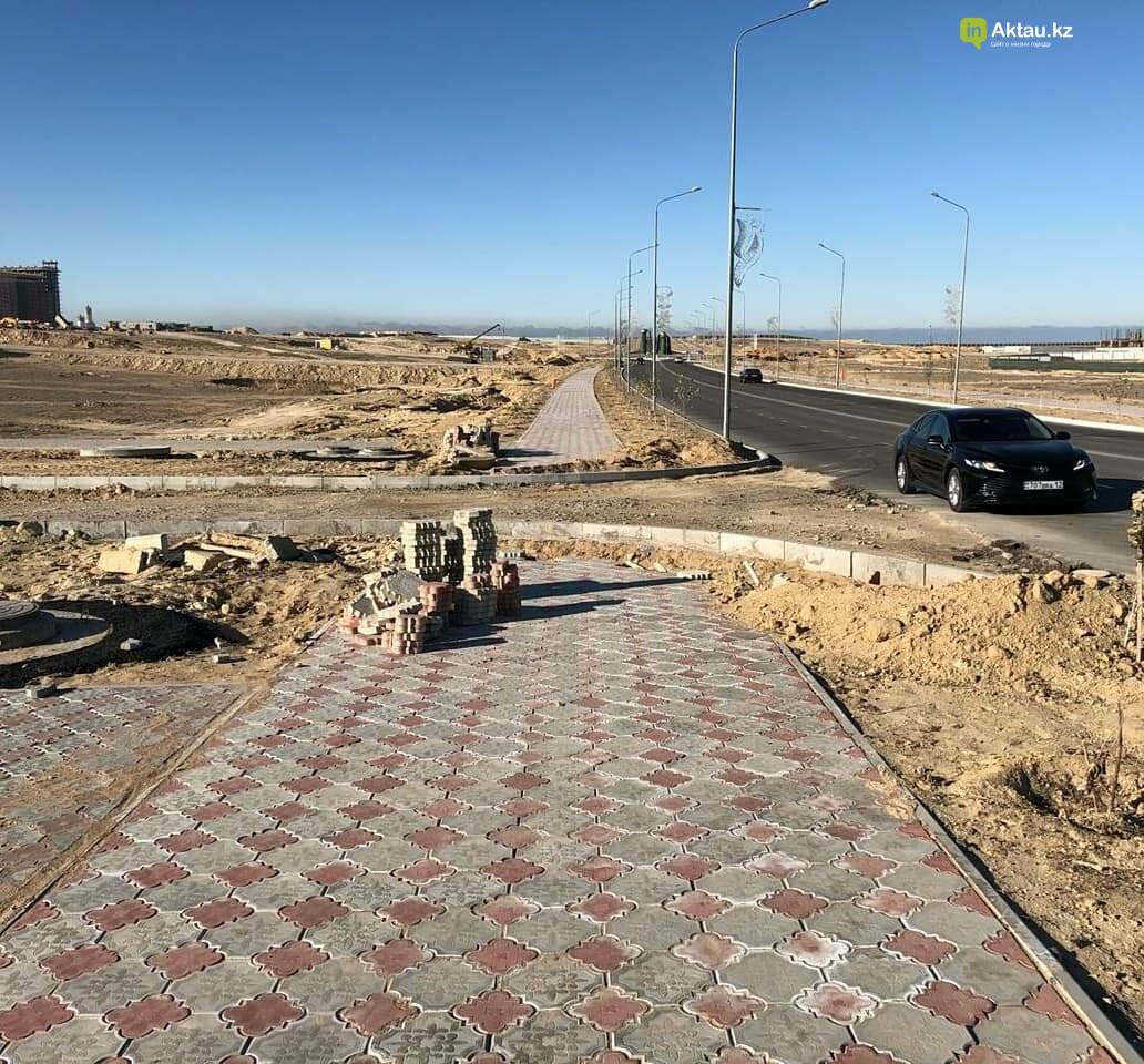 Аким Актау не доволен состояние пешеходных переходов в городе, фото-2