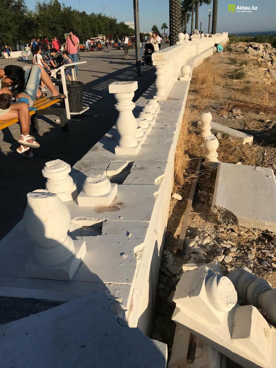 Итоги года: какой урон нанесли вандалы Актау, фото-2