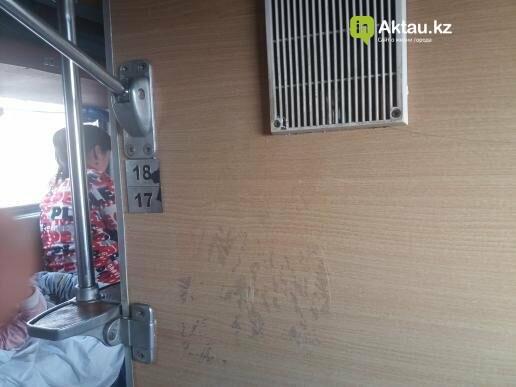 """Пассажира ужаснуло состояние вагона """"Мангистау-Алматы"""", фото-6"""