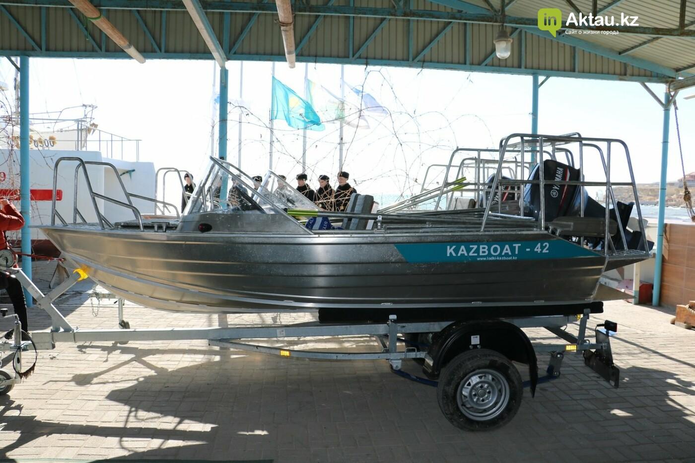 Новые катера для борьбы с браконьерами передали природному парку в Мангистау, фото-1