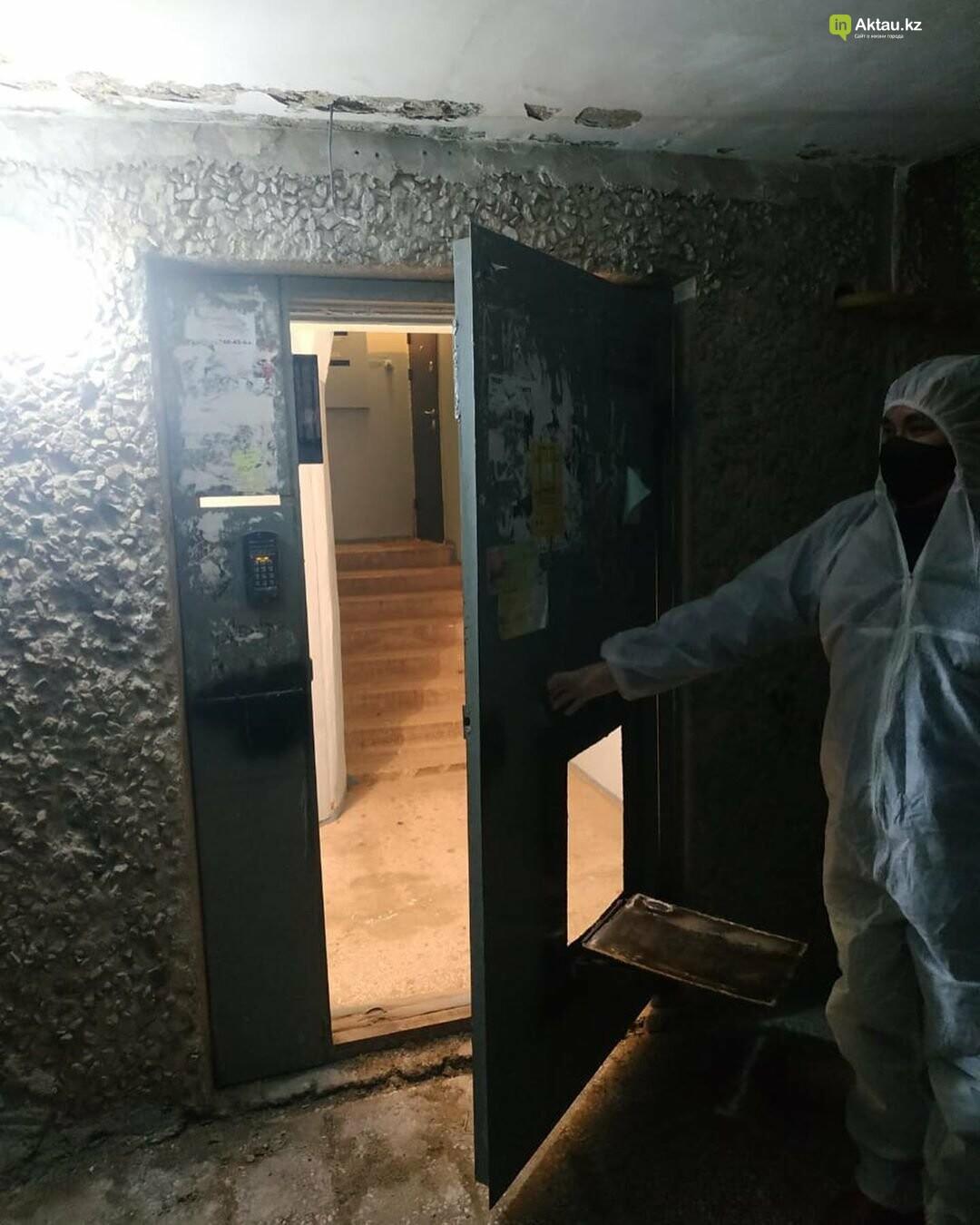 Акимат: двери в изолированный подъезд не заварены, фото-1